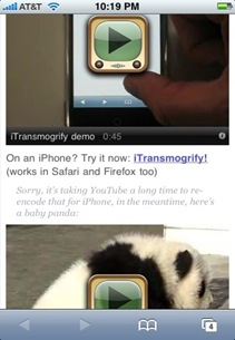 itransmogrify iphone
