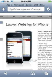 lawyesrweb4iphone