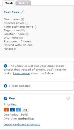 TaskProps