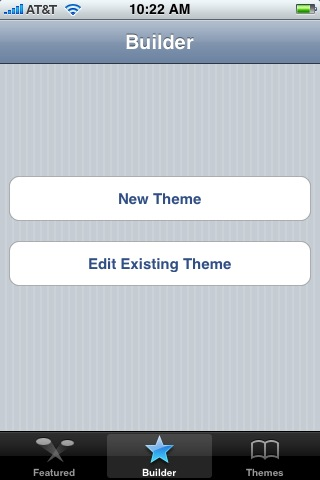 ThemeBuilder iPhone app