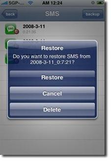 TimeCapsule iPhone backup app