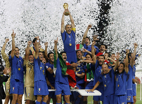 Italy win World Cup