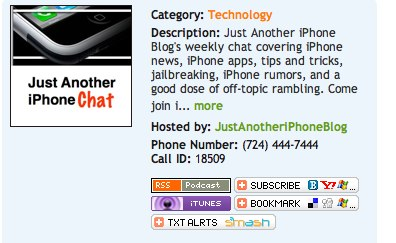 Just Another iPhone Chat screengrab