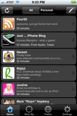 Twinkle iPhone Twitter app