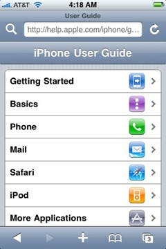 Recommended: Apple's New iPhone Help & User Guide Site | iSource