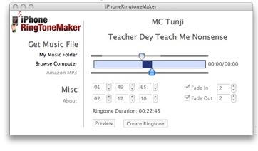 iPhone RingtoneMaker