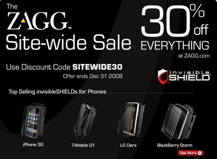 Scratch-Proof Your Christmas Gift_ Get 30% Off Everything at ZAGG.com — Inbox