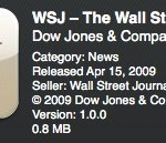 WSJ Mobile Reader for iPhone