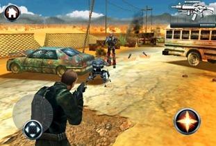 Terminator Salvation on iPhone