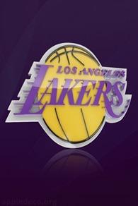 LA Lakers iPhone wallpaper