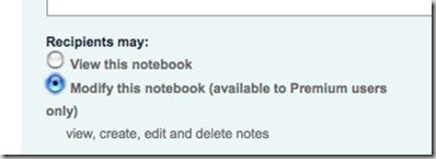 Notebook Sharing