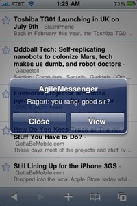 how to set up instant messaging on ipad