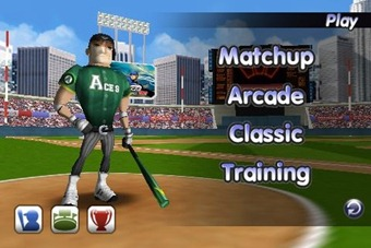 Baseball Slugger on iPhone