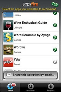 Appsfire iPhone app