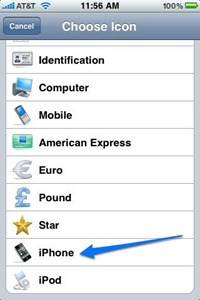 eWallet iPhone Icon