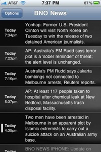 BNO News for iPhone