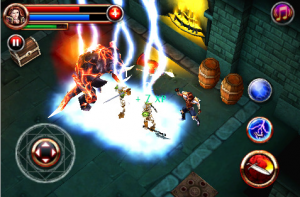 dungeon hunter iphone