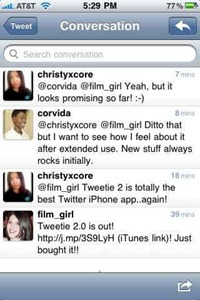 Tweetie 2 for iPhone