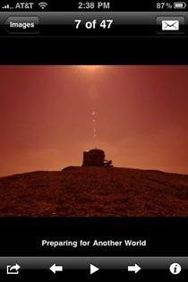 NASA app images