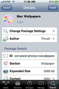 Mac Wallpapers for iPhone