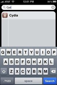 Cydia in Spotlight