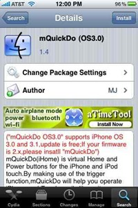 mQuickDo app switching app for iPhone