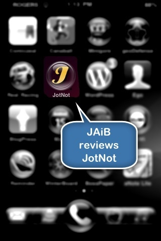 JAiB reviews JotNot