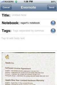evernote goodness