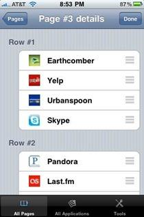 SBOrganizer iPhone app