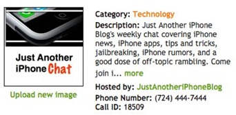 TalkShoe - Call - Just Another iPhone Chat