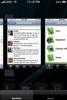 multifl0w iPhone multitasking app