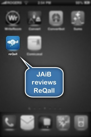 Jaib reviews ReQall