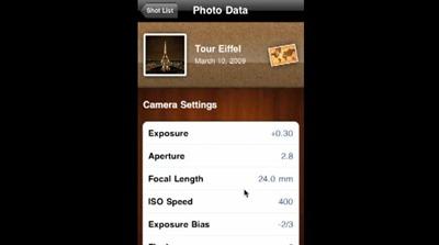 Foto Brisko iPhone app
