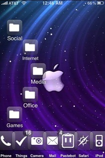 Infinidock iPhone app