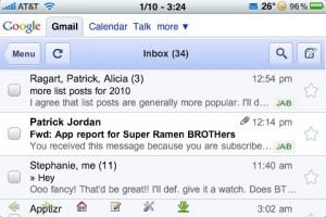 Gmail Push landscape