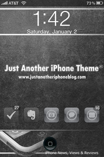 Just Another iPhone Theme