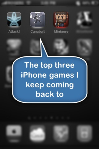 top three iphone games i keep coming back to