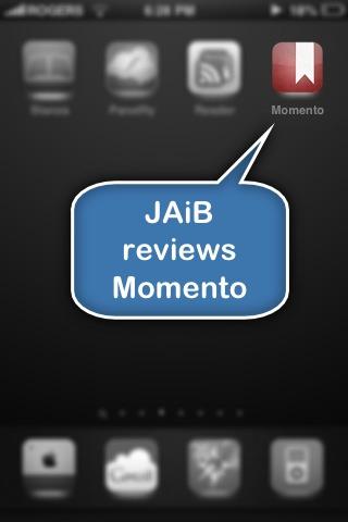 Jaib reviews Momento