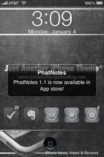 push alert for app update