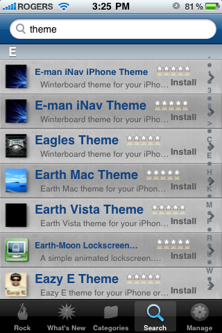 Rock Your Phone, the better alternative to Cydia on your