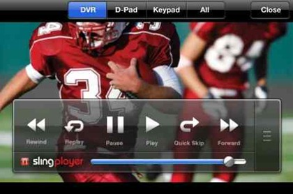 Slingplayer Mobile iPhone app