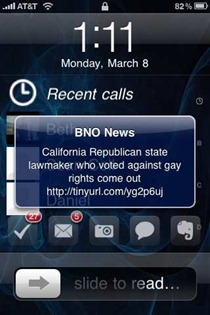 BNO News iPhone app