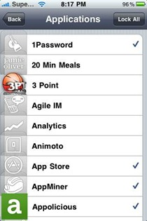 iAccounts iPhone jailbreak app
