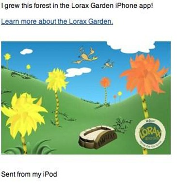 Greetings from Lorax Garden
