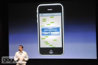 Apple iPhone OS 4.0 preview event
