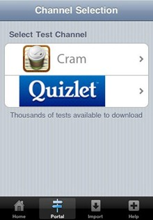 Cram iPhone App