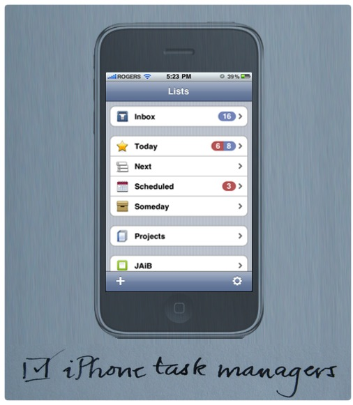 task managers for iPhone