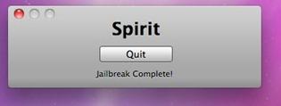 jailbreaking with Spirit