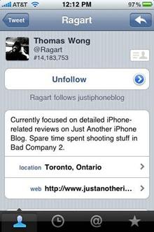 Tweetie app is now Twitter