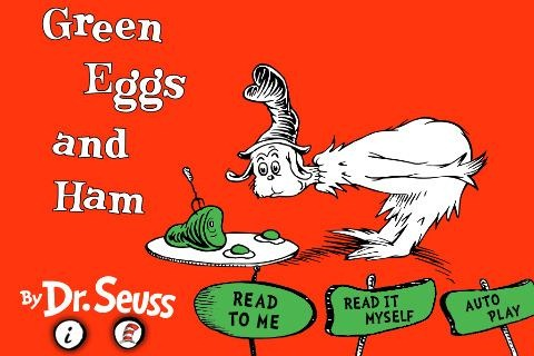 Green Eggs and Ham eBook Now Out for iPhone | iSource